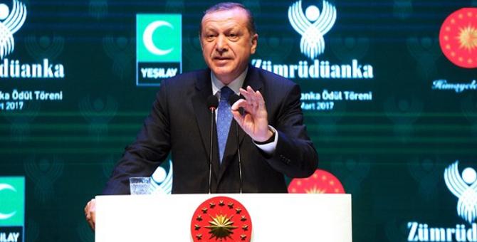 """Cumhurbaşkanı Erdoğan: """"Terör Örgütlerinin Gelir Kapısı Uyuşturucu Ticareti"""""""