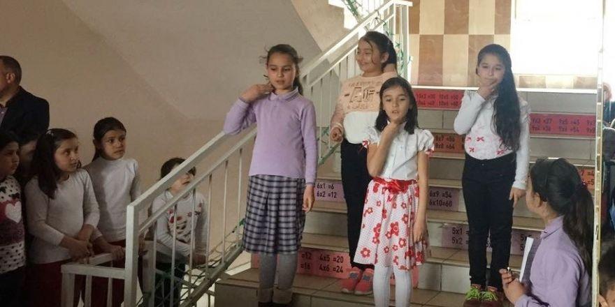 Atatürk ilkokulunda 'Şehitleri Anma Günü' etkinliği