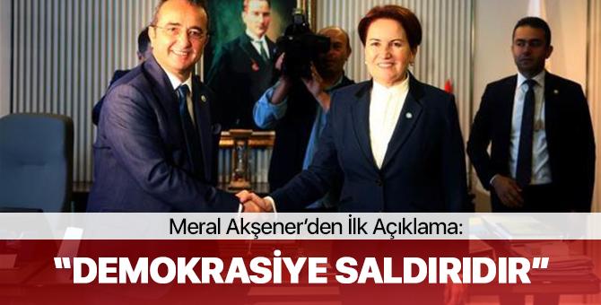 15 Vekilin İYİ Parti'ye Geçmesi Ardından Akşener'den İlk Açıklama