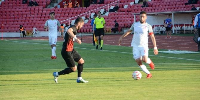 Spor Toto 1. Lig: Balıkesirspor Baltok: 1 - Ümraniyespor: 1