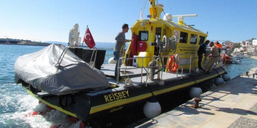 Çeşme'de kaçak deniz avcılığına geçit verilmiyor