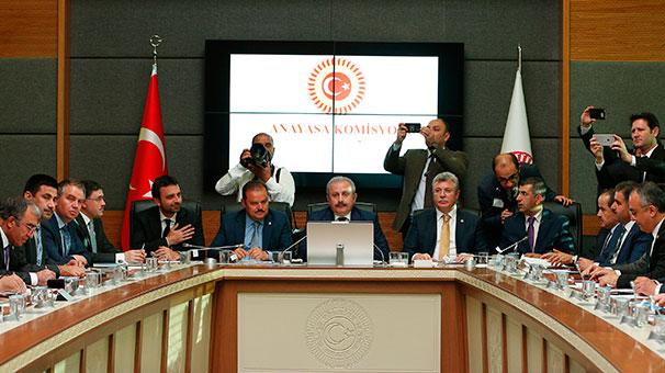 Anayasa Komisyonu Uyum Paketi İçin Toplandı