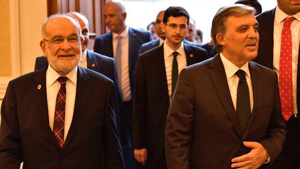 Saadet Partisi Lideri Karamollaoğlu Abdullah Gül ile Görüşecek
