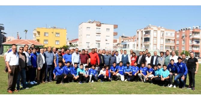Başkan Can, amatör spor camiasıyla bir araya geldi