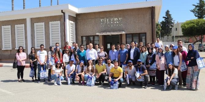 Fırat Üniversitesi öğrencileri MESKİ tesislerini gezdi