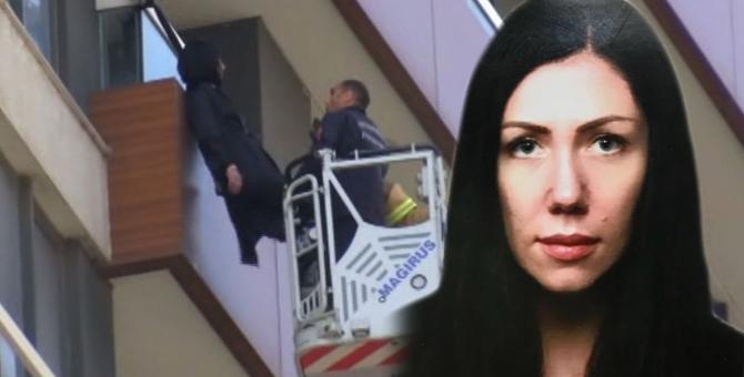 Lüks sitede korkunç olay! Yabancu uyruklu kadın balkona kemerle asılı halde bulundu!