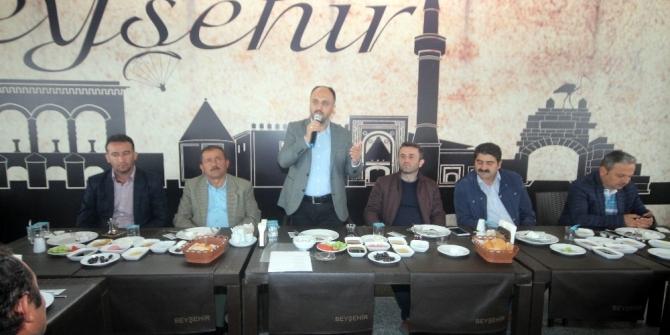 """Başkan Özaltun: """"Beyşehir'de değişim, dönüşüm devam ediyor"""""""