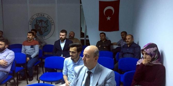 Kilis'te Milli mücadele konferansı
