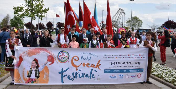 Pendik'in en renkli Çocuk Festivali 3 gün sürdü
