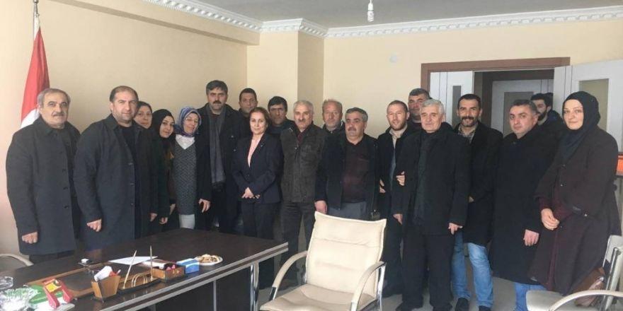 AK Parti Ardahan il teşkilatı, MHP Ardahan İl Başkanını ziyaret etti