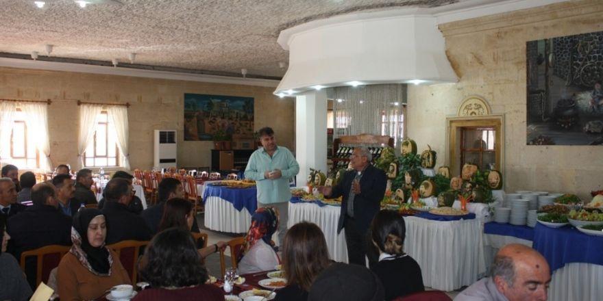 Uçhisar Belediyesi personeli, moral ve motivasyon yemeğinde bir araya geldi