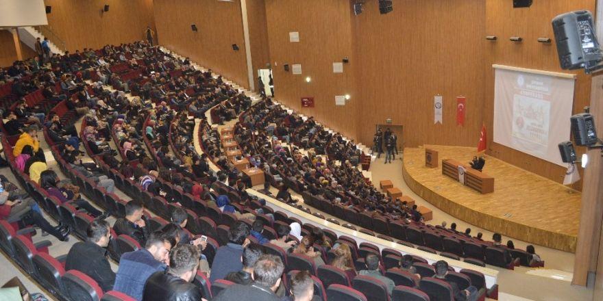 """Şırnak'ta """"Kudüs'ün Fethi ve Selahattin Eyyübi"""" konferansı"""