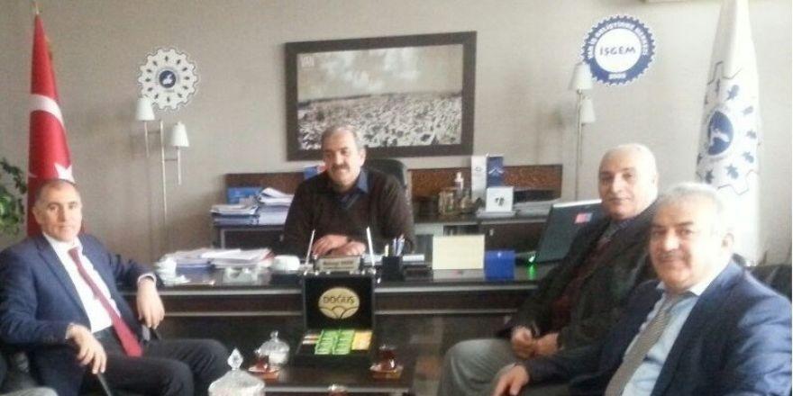 Başkan Karael'den İŞGEM'e ziyaret