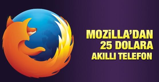 Mozilla'dan 25 dolara akıllı telefon