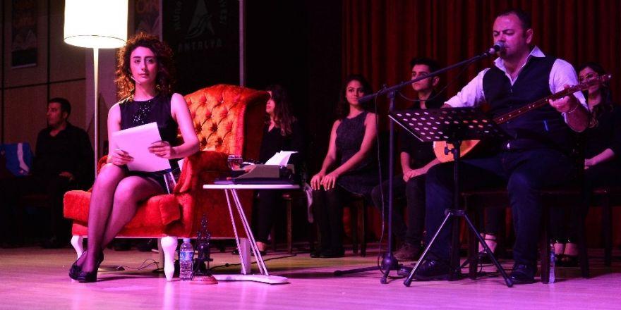Muratpaşa'da 'Edebiyat Geceleri'