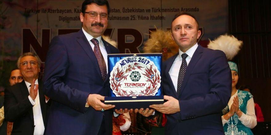 Nevruz Bayramı Türk Cumhuriyetleri ile birlikte kutlandı