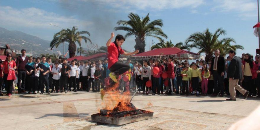 Alanya'da Nevruz kutlamaları
