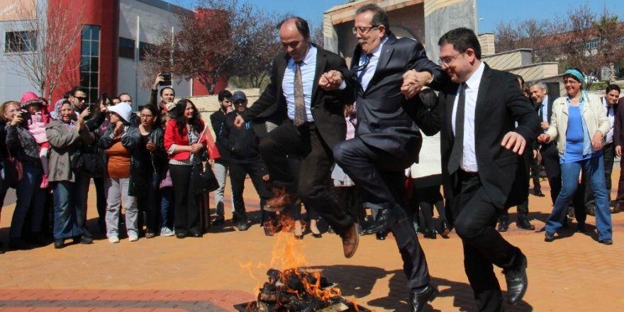 Aydın'da Nevruz kutlamaları renkli görüntülere sahne oldu