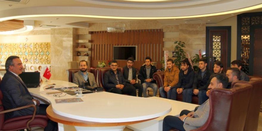 TÜGVA Nevşehir İl Temsilciliğinden Rektör Bağlı'ya hayırlı olsun ziyareti