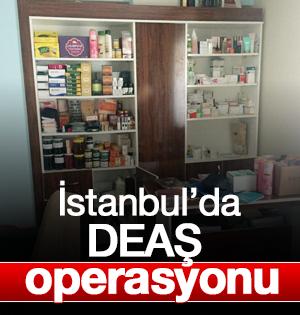 İstanbul'da DEAŞ operasyonu:5 gözaltı