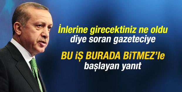 """Recep Tayyip Erdoğan """"BU İŞ BURADA BİTMEZ"""""""