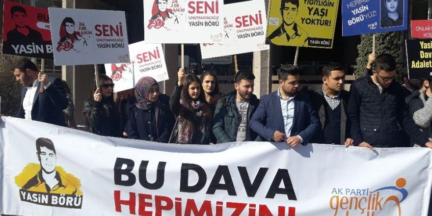 """AK Parti Gençlik Kollarından """"Yasin Börü davası"""" ile ilgili açıklama"""