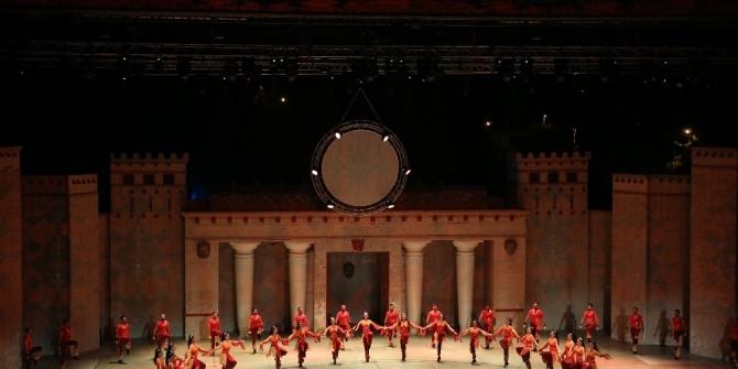 Anadolu Ateşi Serikliler için sahnelendi