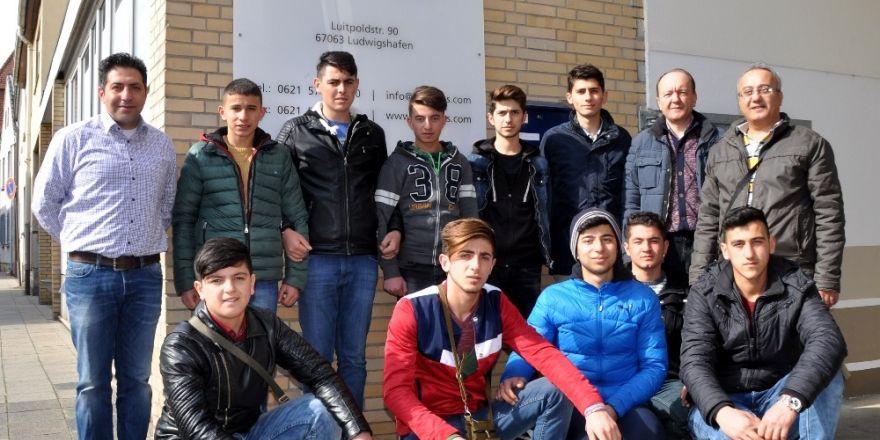 Tokatlı öğrenciler Almanya'da