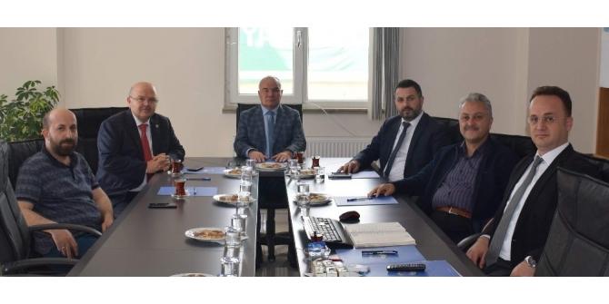 Yenice OSB'de yeni  yönetim oluşturuldu