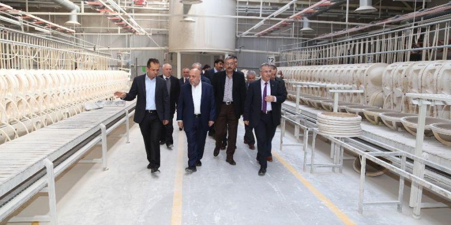 Hak-İş Genel Başkanı Mahmut Aslan'dan Turkuaz Seramik'e Ziyaret