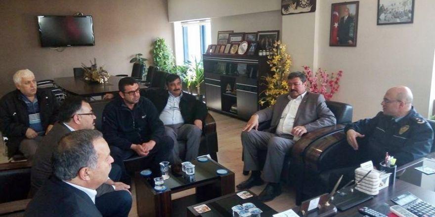 Söke Emniyet Müdürü Haşimoğlu'ndan oda ziyaretleri