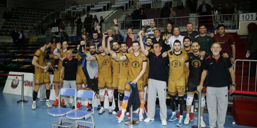 Jeopark Kula Belediyespor final turunu garantiledi