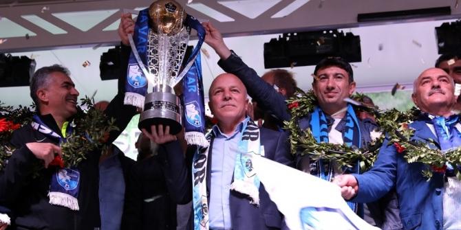 Şampiyon şehrin şampiyon takımı BB. Erzurumspor