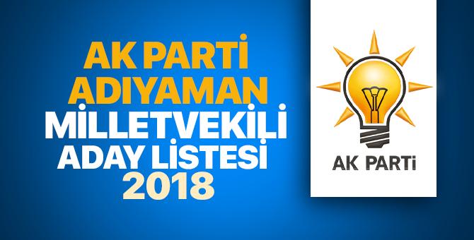 Adıyaman AK Parti milletvekili adayları 2018 - 24 Haziran erken seçimleri