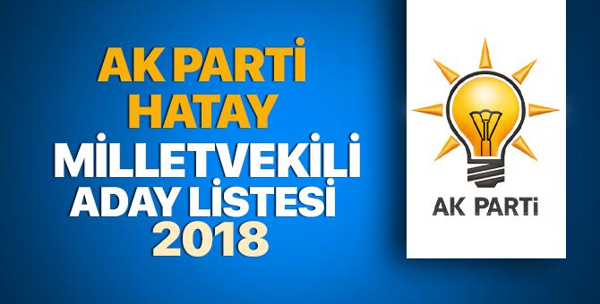 Hatay AK Parti milletvekili adayları 2018 - 24 Haziran erken seçimleri