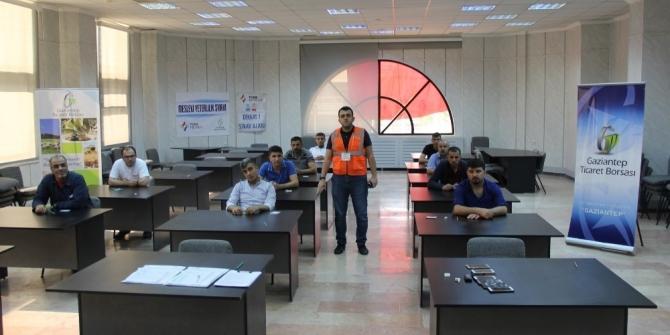 Gaziantep Ticaret Borsası'nda MEYBEM Telafi Sınavı