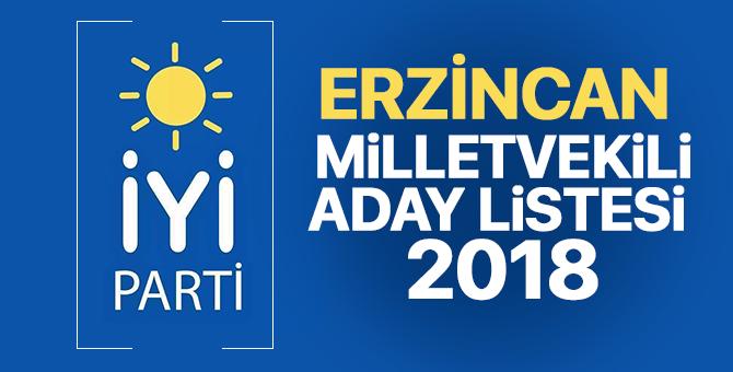 İYİ Parti Erzincan Milletvekili adayları 2018  kimler oldu? – 24 Haziran erken seçimleri