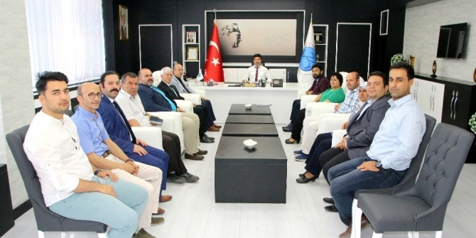 Türk Ocakları Kilis Şubesinden Rektör Karacoşkun'a Ziyaret
