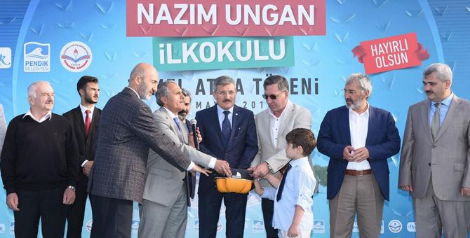 Pendik Sülüntepe'ye yeni bir okul
