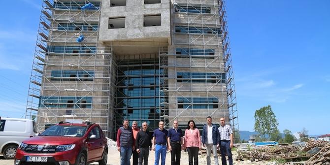ODÜ Rektörlük Binası Eylül'de hizmete girecek