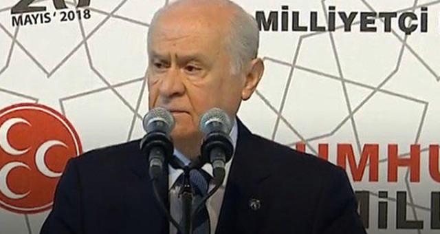 İşte MHP'nin 24 Haziran seçim bildirgesi! Bahçeli vaatlerini açıklıyor
