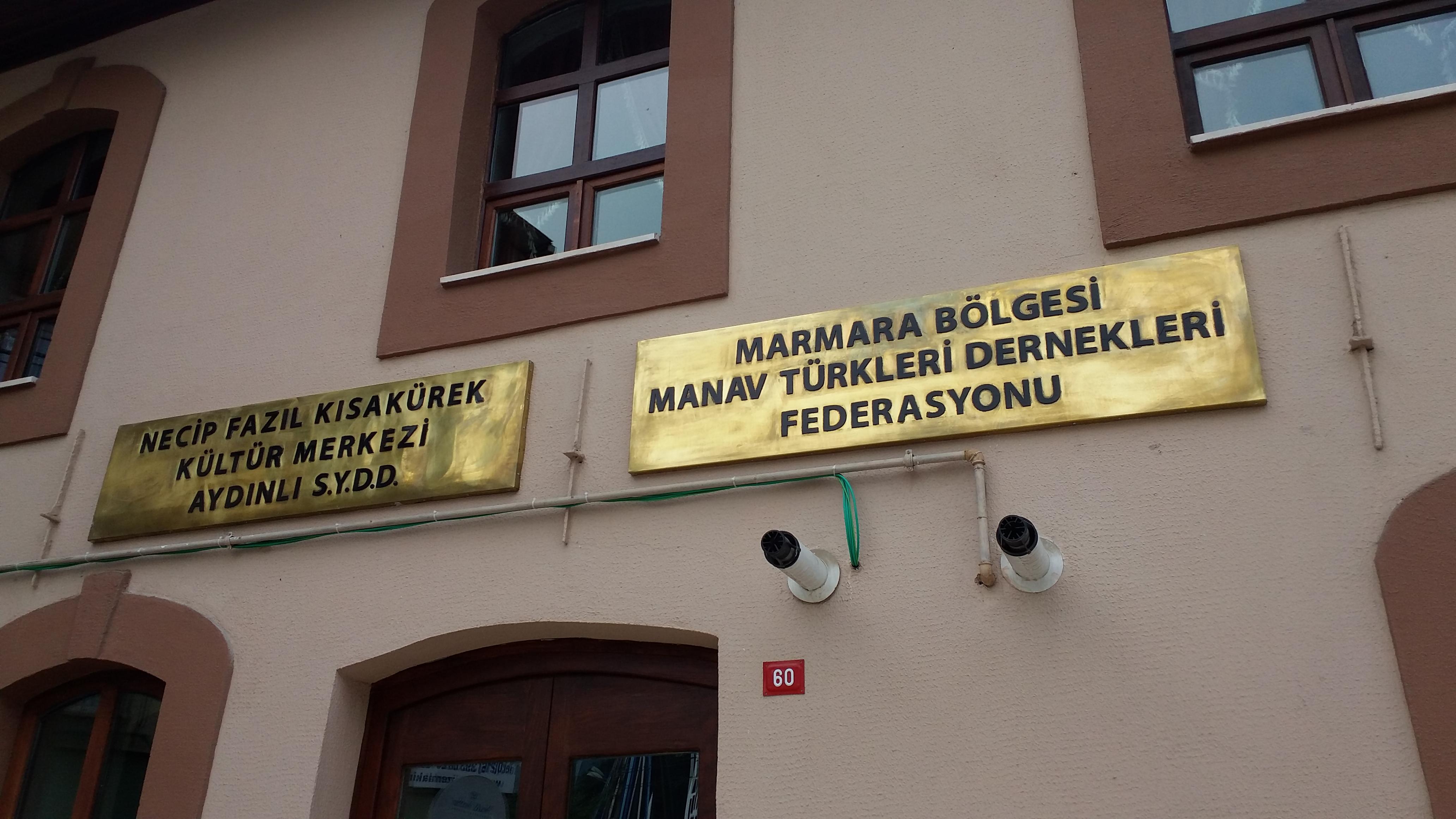 """133 yllık tarihi esere """"Manav"""" damgası"""