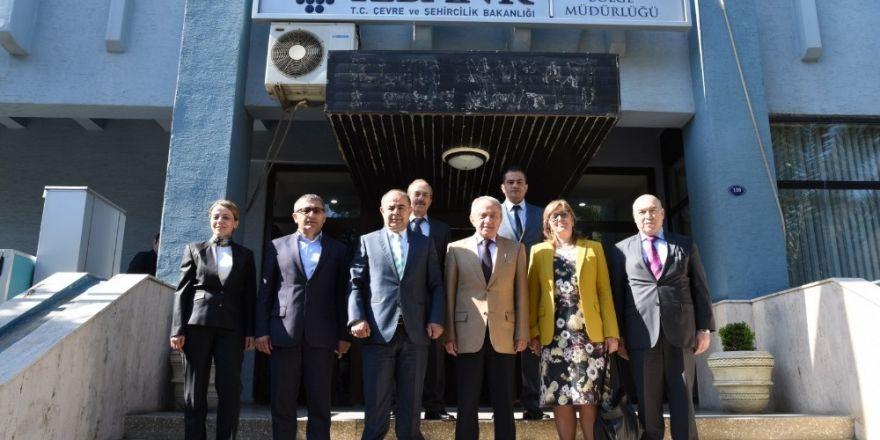 MASKİ ile İller Bankası arasındaki işbirliği güçleniyor