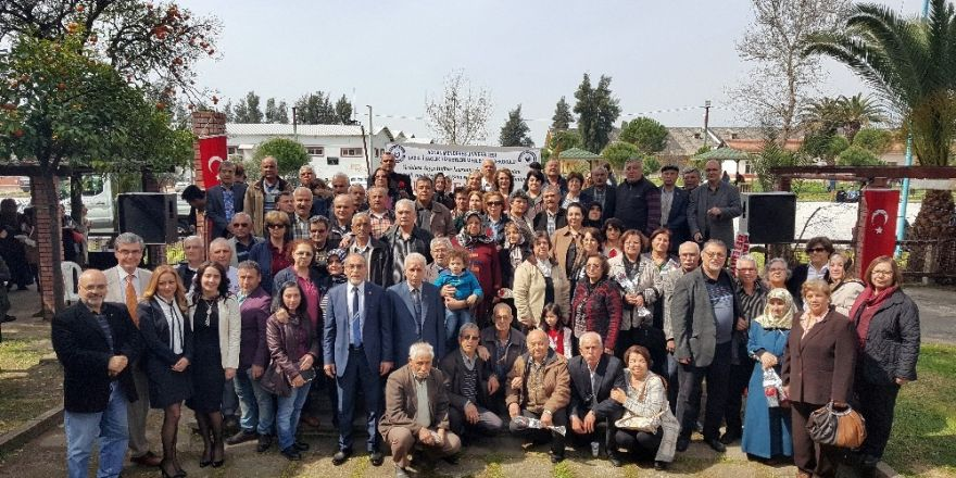 Nazilli'de görüşemeyen Sümerbank emeklileri buluşturuldu