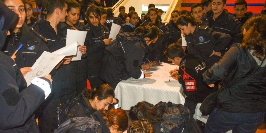 Polis adaylarına organ bağışı anlatıldı