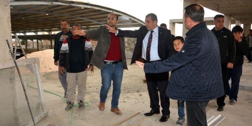 Özbek Semt Pazarı Bitme Aşamasında