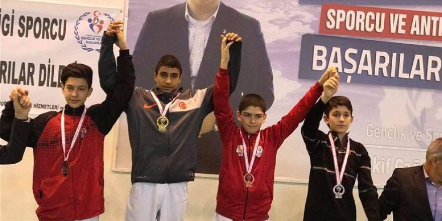 ANALİG taekwondo şampiyonu Erzincan'dan