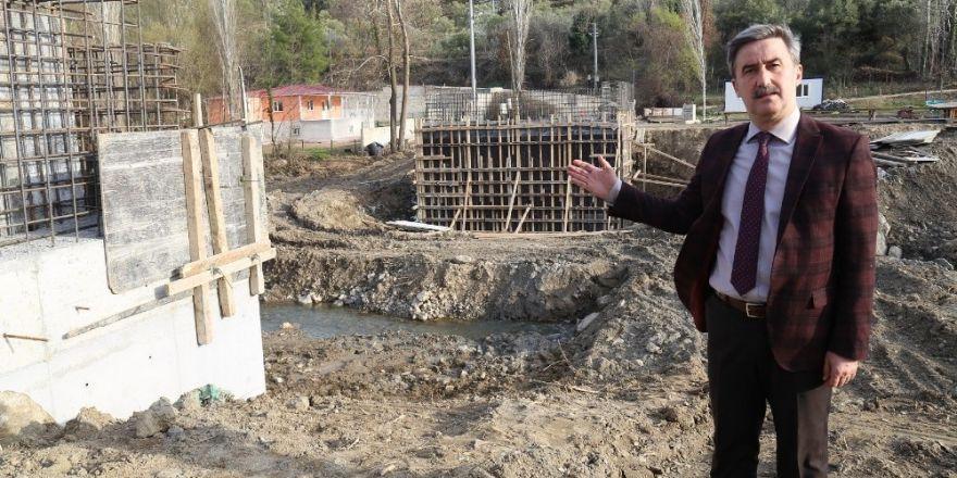 Çıkrıkçı Köprüsü yeniden yapılıyor