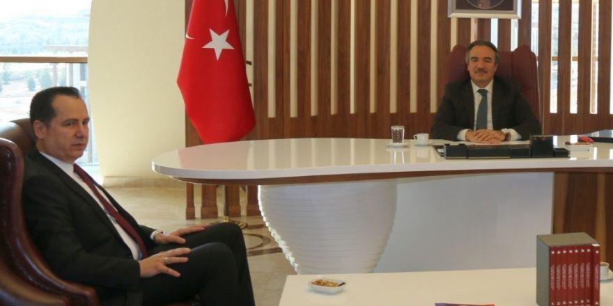 Nevşehir Adalet Komisyonu Başkanı Demirtaş'tan Rektör Bağlı'ya ziyaret