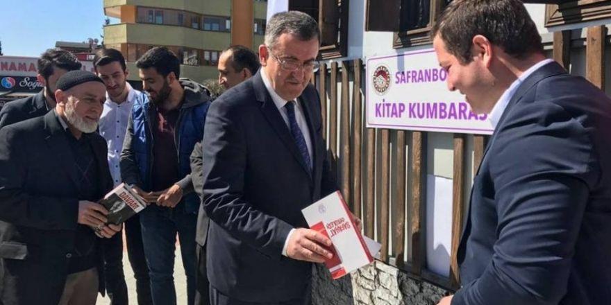 """Safranbolu'da köy okulları için """"Kitap Kumbarası"""" projesi"""
